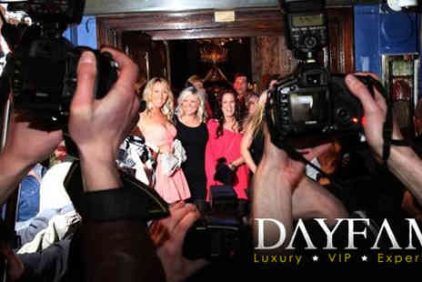Dayfame - A ticket to a Four Hour VIP Boat Party including DJ, Event Photographers, Club Entry, Sparkling Wine and Canapes - Save 80%
