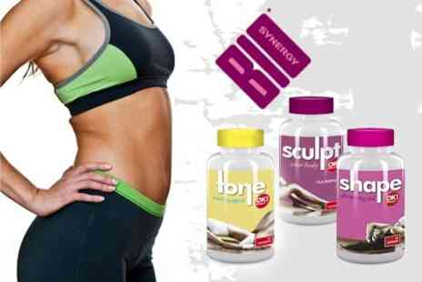 Bio Synergy - One Month Supply of OK Shape, Tone and Sculpt Supplements - Save 57%