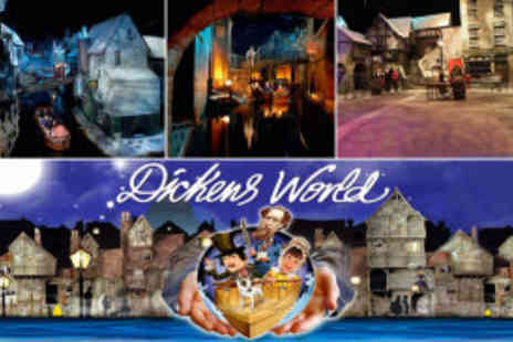 Dickens World - Family ticket - Save 60%