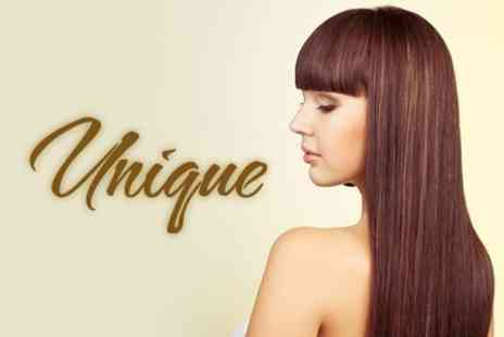 Unique - Full Head of Highlights plus Cut, Finish and Conditioning Treatment for £29 at Unique - Save 72%
