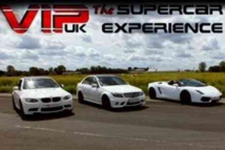 VIP UK Experience Days - Supercar Experience Three Laps in Choice of Car - Save 22%