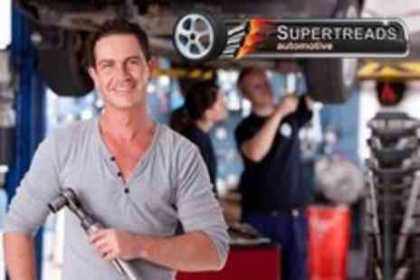Supertreads Automotive - 68 Point Car Service With Oil and Filter Change Plus Air Con Health Check - Save 62%