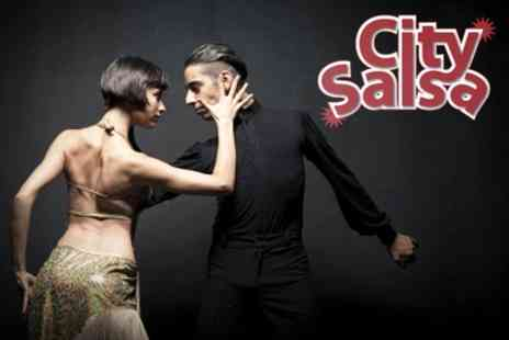 City Salsa - Eight 90 Minute Salsa Classes - Save 70%