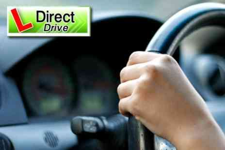 DirectDrive - Three Hours of Beginners Driving Lessons - Save 49%