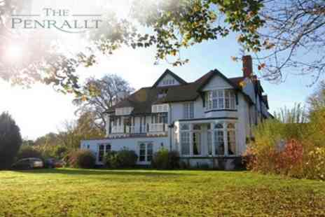 The Penrallt - Two Night Stay For Two With Breakfast and Use of Leisure Facilities - Save 69%