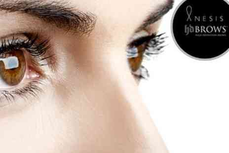 Anesis London - HD Brow Treatment or Blink Plus Go Two Week Lash Extensions - Save 60%