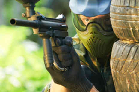 Barnsley Paintball Games - Paintball Day with Equipment - Save 50%