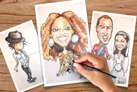 Caricature Workshop - Caricature drawing - Save 77%