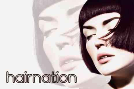 hairnation - Full Head of Highlights Or Colour With Cut Or Restyle - Save 74%