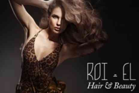 ROI El Hair - Haircut and Blow Dry Finish - Save 61%