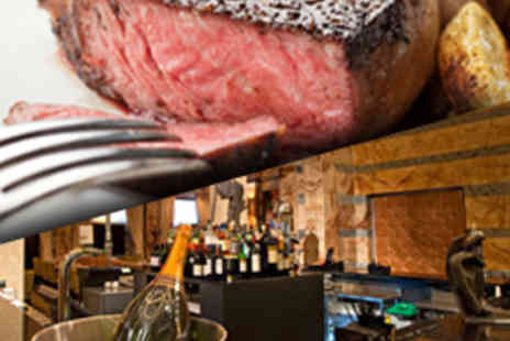 Boyds Bar & Brasserie - Three Course Meal with Glass of Champagne Each - Save 53%