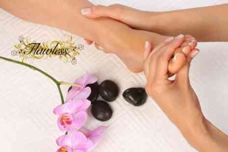 Flawless Nails and Beauty - Reflexology Massage Plus Consultation - Save 58%