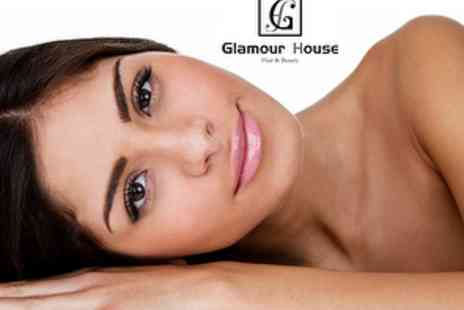 Glamour House Hair & Beauty - Choice of Luxurious Treatments up to 60 mins, plus £30 treatment voucher - Save 78%