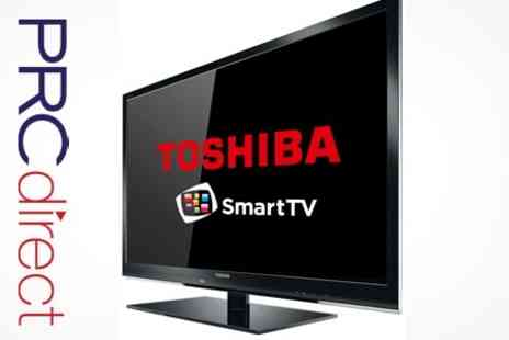 PRC Direct - Toshiba 37 Full HD 1080p LED Smart TV With Freeview - Save 20%