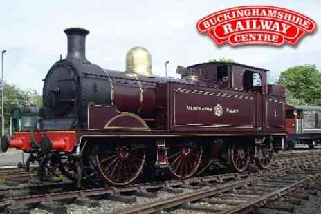 Buckinghamshire Railway Centre - Entry for Two Adults and Up To Four Children - Save 61%