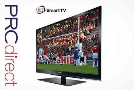 PRC Direct - Toshiba 37 Full HD TV With Freeview and Smart TV With Optional Five Year Warranty - Save 33%
