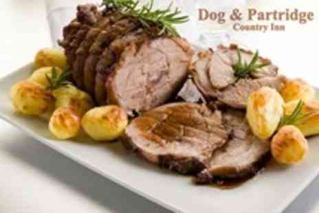 The Dog and Partridge - Sunday Roast For Two - Save 61%