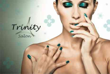 Trinity Salon - 75 Minute OPI Gel Manicure Plus Shape and Polish On Toes - Save 61%