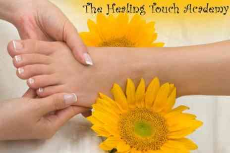 Healing Touch Academy - 90 Minute Organic Lime and Mint Mojito Pedicure with Reflexology Massage for £25 - Save 62%