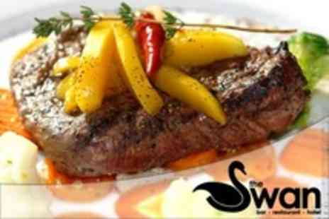The Swan Hotel - Two Course Pub Lunch For Two - Save 52%