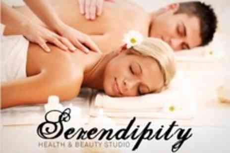 Serendipity Health and Beauty - Full Body Aromatherapy Massage For Two Plus Afternoon Tea - Save 71%
