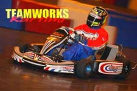 Teamworks Karting Peterborough - 30 Minute Karting Session - Save 50%