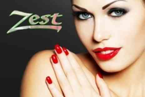Zest Hair and Beauty - Gel Polish Nails Plus Nail Extensions - Save 55%