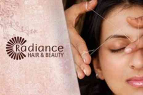 Radiance Hair and Beauty - One Day Threading Diploma Course  - Save 85%