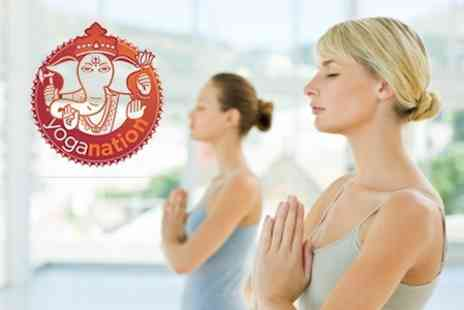 Yoga Nation - Ten Hot Yoga Sessions - Save 71%