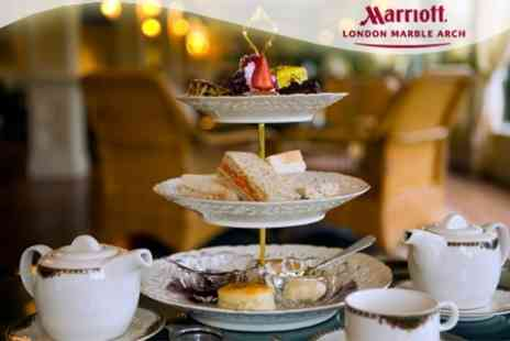 London Marriott Hotel - Afternoon Tea For Two - Save 58%