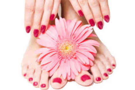 Bliss Health & Beauty - Shellac manicure and pedicure - Save 64%