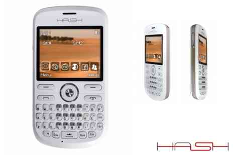 Hash Mobile - Choice of dual SIM mobile phones - Save 62%