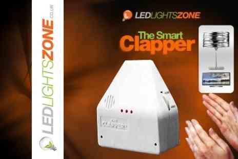 LED Lights Zone - Three Clapper Light Switches - Save 63%
