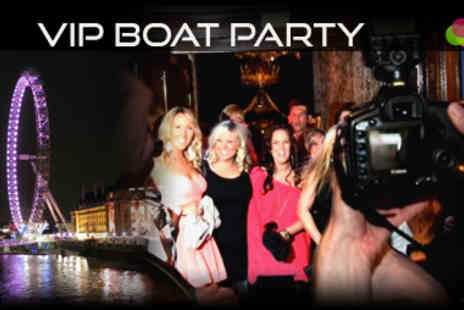 Dayfame - VIP Boat Party on Luxury Cruiser with Live DJ, Event Photographers plus more - Save 80%
