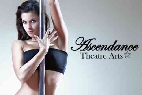Ascendance Theatre Arts - Three 60 Minute Pole Dancing Lessons For Two - Save 70%