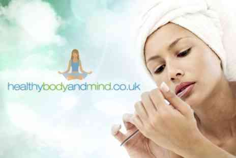 HealthyBodyandMind.co.uk - Four Crystal Nail Files - Save 63%