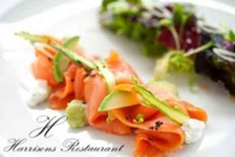 Harrisons Restaurant - Six Course Modern European Tasting Menu With Bubbly For Two - Save 18%