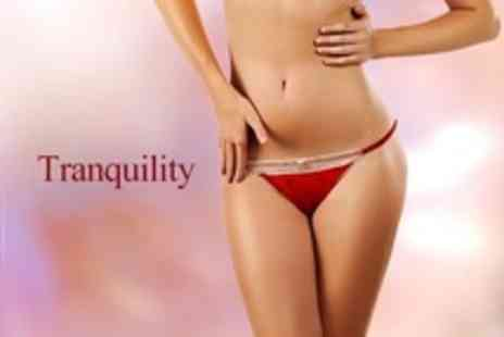Tranquility - Waxing Package Full Leg and Underarm Plus Brazilian or Bikini - Save 57%