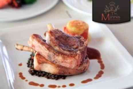 The Minnis Bar and Restaurant - Curiously Kentish Five Course Taster Menu For Two - Save 27%