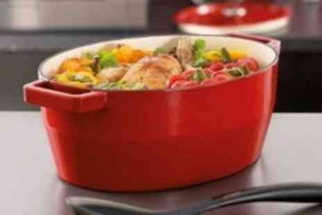 Mahahome.com - Pyrex Slow Cook Cast Iron Cookware in Choice of Colours and Sizes - Save 50%