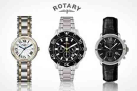Watch Warehouse - Ladies Rotary Stainless Steel Watch - Save 60%