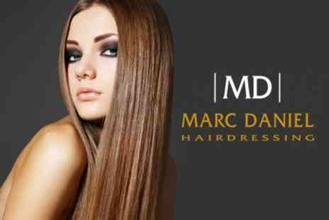 Marc Daniel Hairdressing - Cut, Conditioning Treatment and Finish - Save 68%