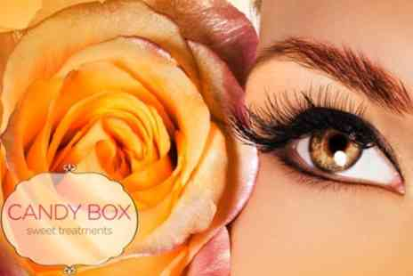 Candy Box - Full Set of Semi Permanent Eyelash Extensions - Save 61%