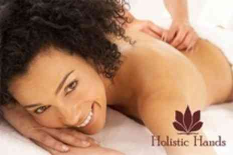 Holistic Hands - One Hour Full Body Massage or Two Hours of Acupuncture and Massage - Save 68%