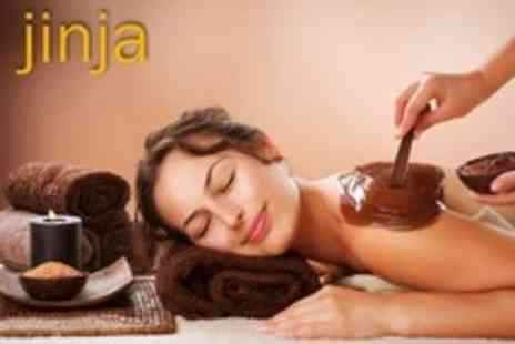 Jinja at myhotel Bloomsbury - One Hour Aveda Massage, Chocolate Body Wrap and Facial With Champagne - Save 36%