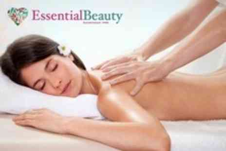 Essential Beauty - Choice of Two Treatments Such as Massage and Facial - Save 34%