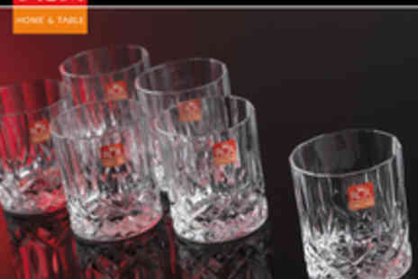 RCR - Opera 21cl Set Of 6 Whiskey Glasses - Save 81%