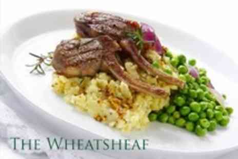 The Wheatsheaf - Two Course Pub Meal For Two - Save 50%