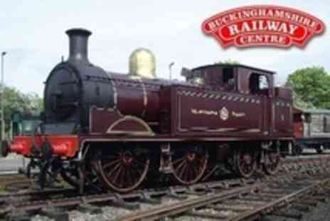 Buckinghamshire Railway Centre - Family Admission Including Multiple Steam Train Rides - Save 50%