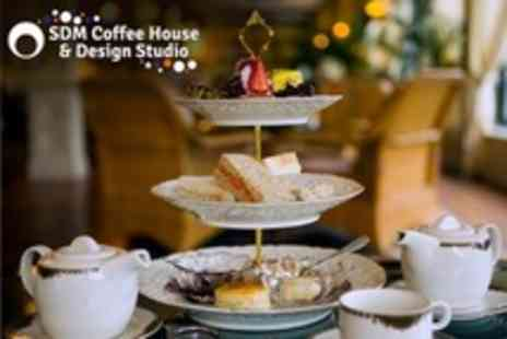 SDM Coffee House - Afternoon Tea For Two - Save 53%